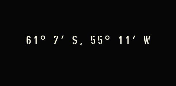 61° 7′ S, 55° 11′ W